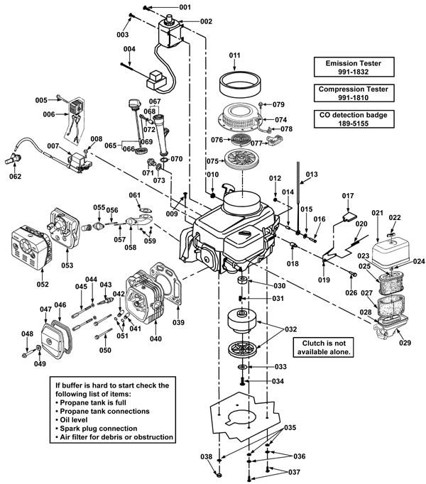 printable version rh usafix usaclean com Honda GX390 Engine Parts Diagram Honda Small Engines