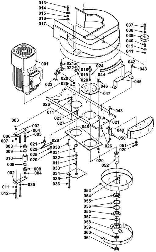 Gebudereinigung soft Schrubbrste passend fr Taski Combimat 500 ...
